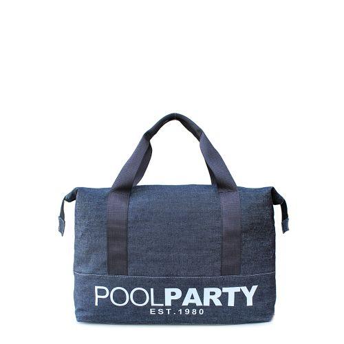 Спортивная сумка Poolparty pool-12-jeans
