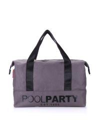 Спортивная сумка Poolparty pool12-grey