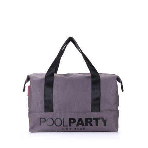 Спортивная сумка Poolparty pool12-grey