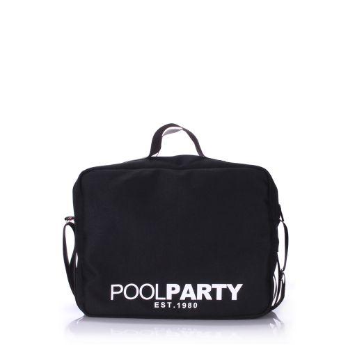 Спортивная сумка Poolparty pool-11-black