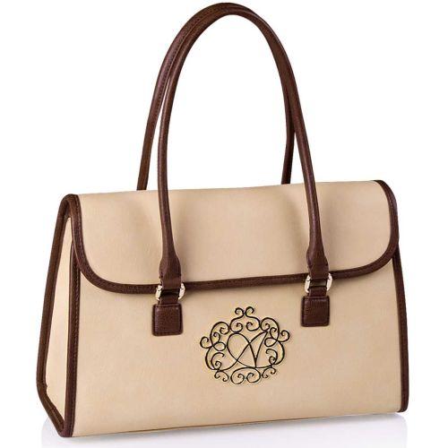 Женская сумка Alba Soboni А 14001 бежевая