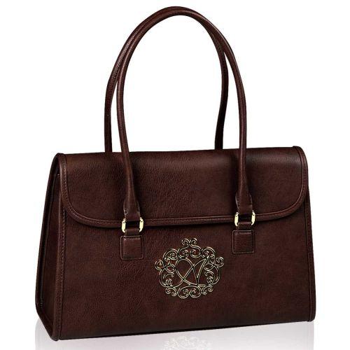 Женская сумка Alba Soboni А 14001 коричневая