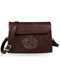 Женская сумка Alba Soboni А 14002 коричневая