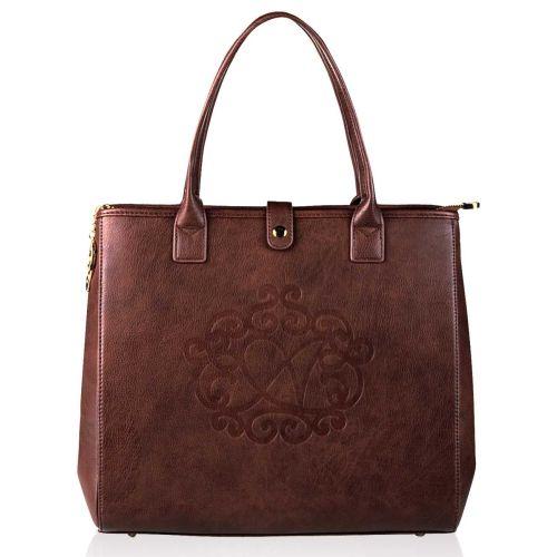 Женская сумка Alba Soboni А 14005 коричневая