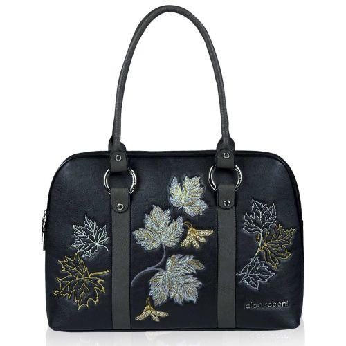 Женская сумка Alba Soboni А 141470 черно - серая