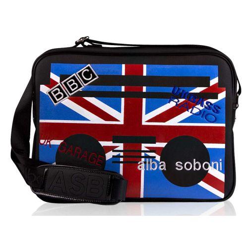 Cумка Alba Soboni А 130627 флаг черная