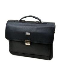 Мужской портфель Dr.Bond 53793817 черный