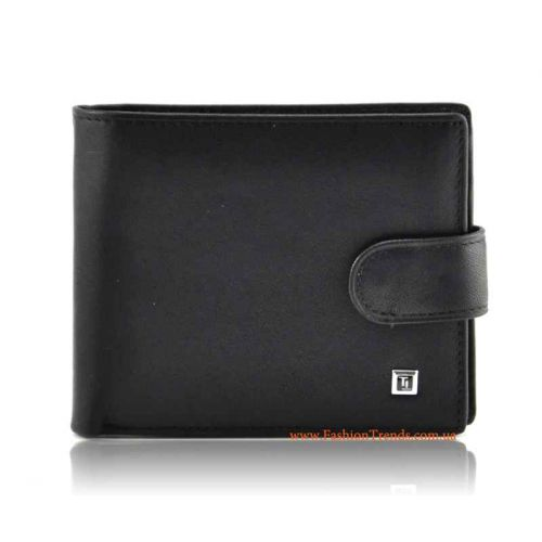 Мужской кошелек Bretton M36-Z кожаный черный