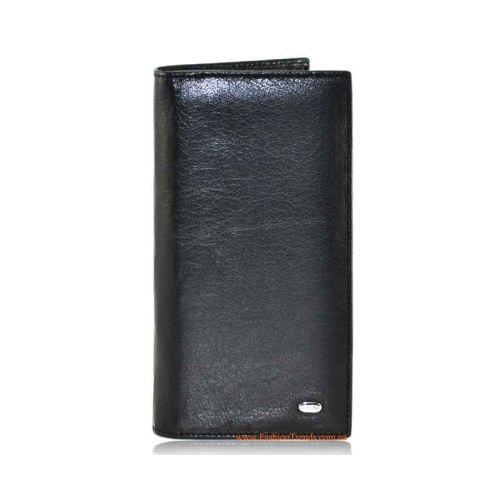 Мужской кошелек Dr.Bond M48 кожаный черный