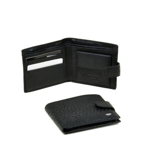 Мужской кошелек Dr.Bond M4 Snake черный