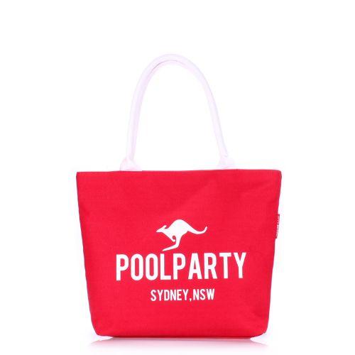 Женская сумка Poolparty pool-9-red