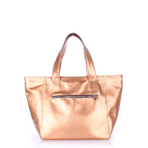 Женская сумка Poolparty disco-gold