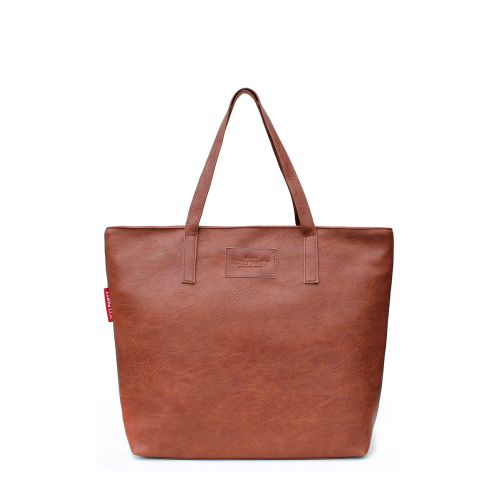 Женская сумка Poolparty pool88-brown-PU