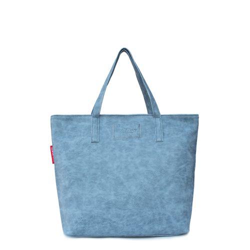 Женская сумка Poolparty pool88-grey-PU