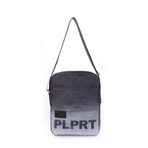 Мужская сумка Poolparty Jeans Plprt Crossbody Bag синяя
