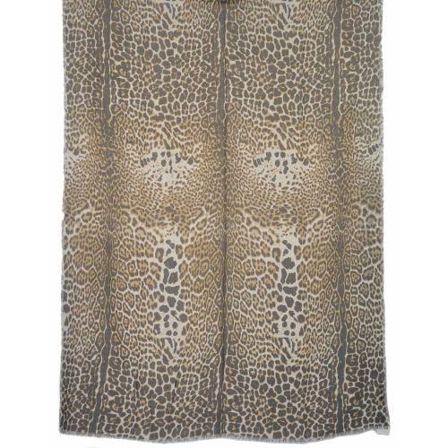 Палантин Yves Saint Laurent леопардовый