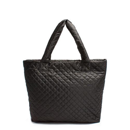 Стеганая сумка Poolparty pp1-eco-black