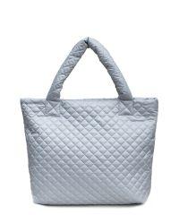 Стеганая сумка Poolparty pp1-eco-grey