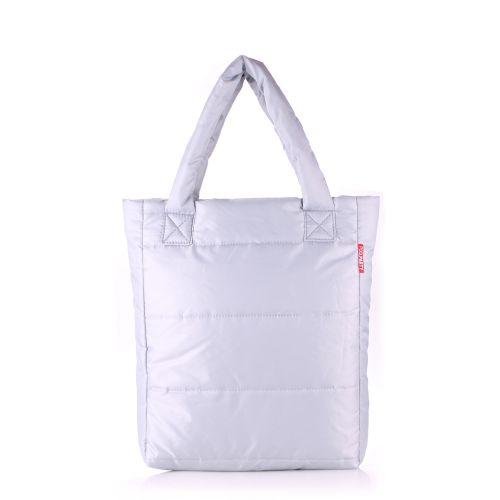 Дутая сумка Poolparty ns3-grey