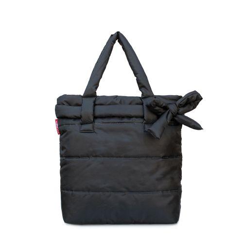 Дутая сумка Poolparty pool-black-bow