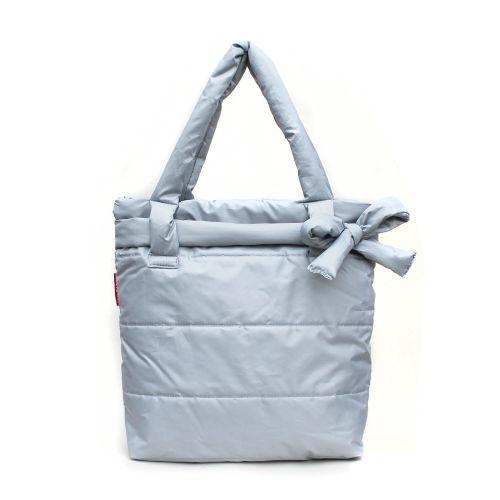 Дутая сумка Poolparty pool-grey-bow