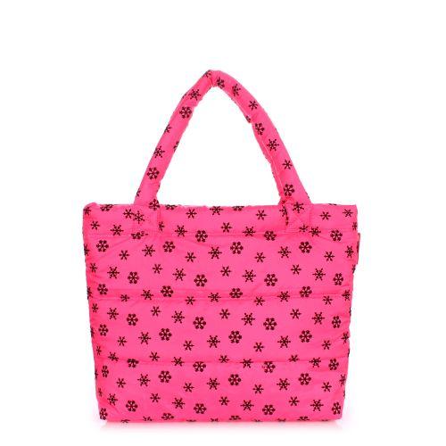 Дутая сумка Poolparty pp4-snow-pink