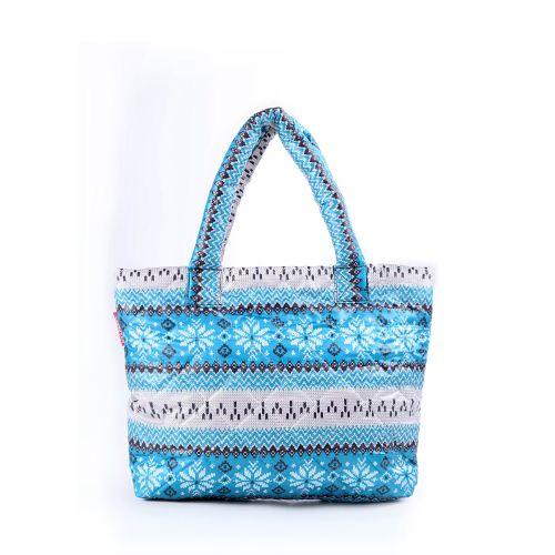 Стеганая сумка Poolparty pp11-blue