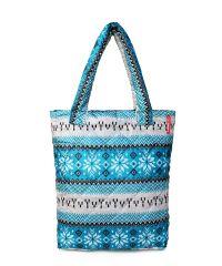 Стеганая сумка Poolparty pp10-blue