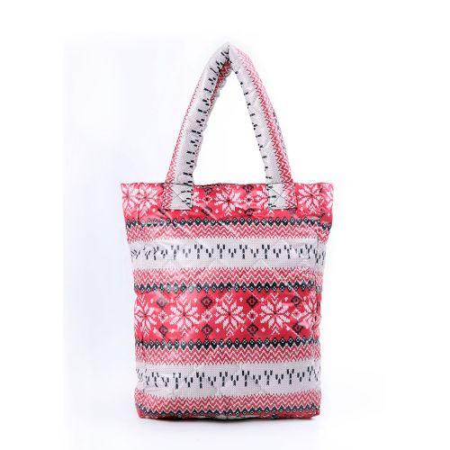 Стеганая сумка Poolparty pp10-red