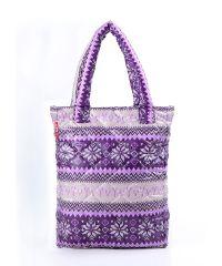 Стеганая сумка Poolparty pp10-purple