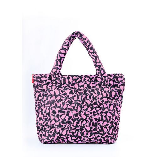 Стеганая сумка Poolparty pool-65-pink-rabbits