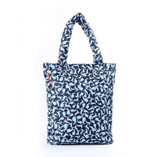 Стеганая сумка Poolparty pool-61-blue-rabbits
