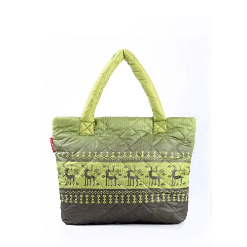 Стеганая сумка Poolparty pool-67-green