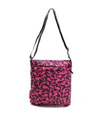 Стеганая сумка Poolparty pool-59-pink-rabbits