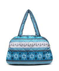 Стеганая сумка Poolparty ns-2-nordic-blue