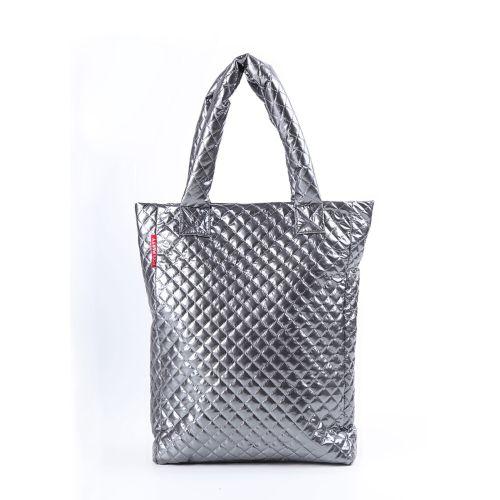 Стеганая сумка Poolparty ns3-dark-silver