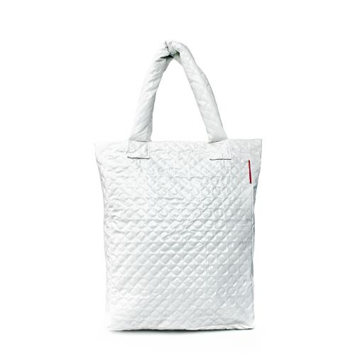 Стеганая сумка Poolparty ns3-white-laq
