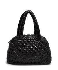 Стеганая сумка Poolparty ns4-black