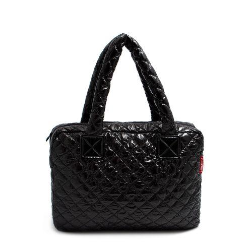Стеганая сумка Poolparty pool-102-black