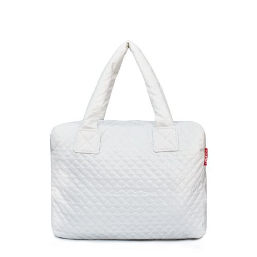 Стеганая сумка Poolparty pool-102-white
