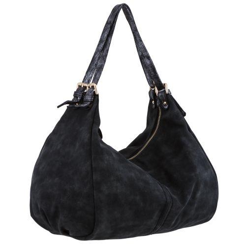 Женская сумка B1 T19961D мешок черная