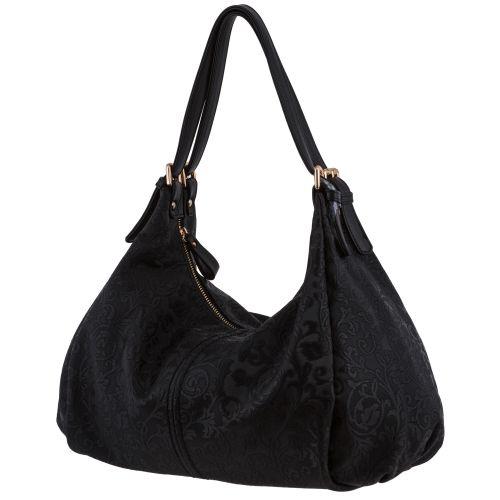 Женская сумка B1 T19961C мешок черный