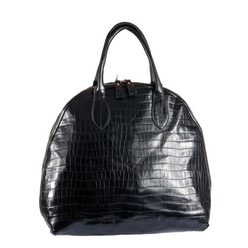 Женская сумка B1 T20100B саквояж черная