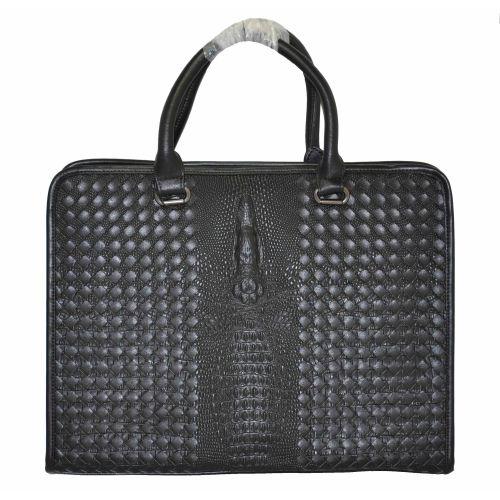 Мужской портфель Crocodile черный