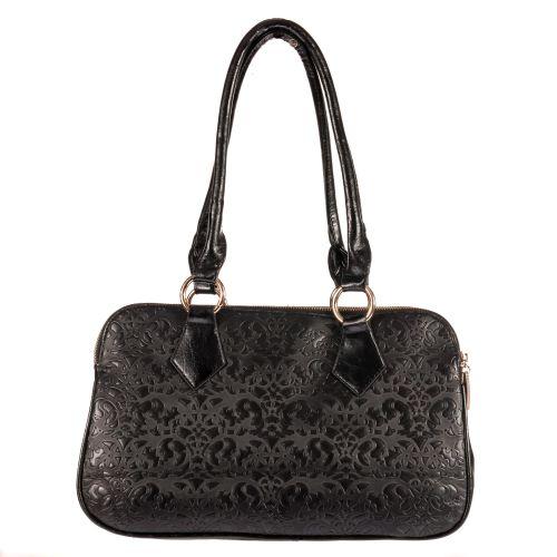 Женская сумка B1 T20089 саквояж черная
