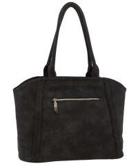Женская сумка B1 MB003 темно-серая