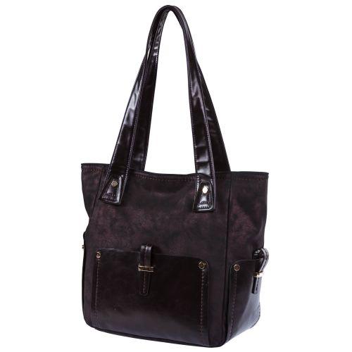 Женская сумка B1 MB001 темно-фиолетовая