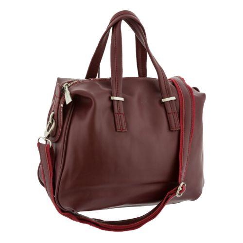 Женская сумка B1 9026 5016 бордовая