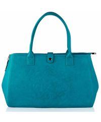 Женская сумка Alba Soboni А 14006 бирюзовая