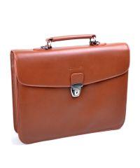 Мужской портфель Bretton PB-39872 рыжий